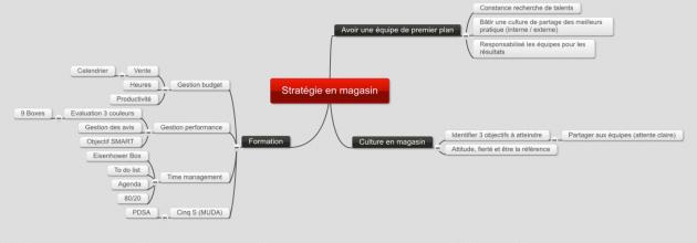 Stratégie en magasin