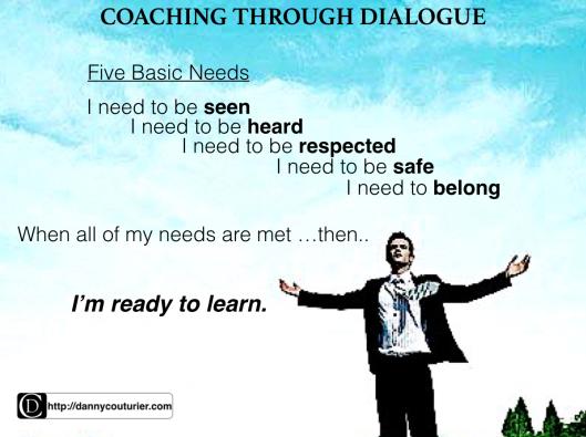 Coaching trough dialogue
